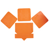 Orange Throw Down Bases-5 Piece